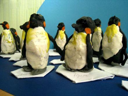 пингвины ближе